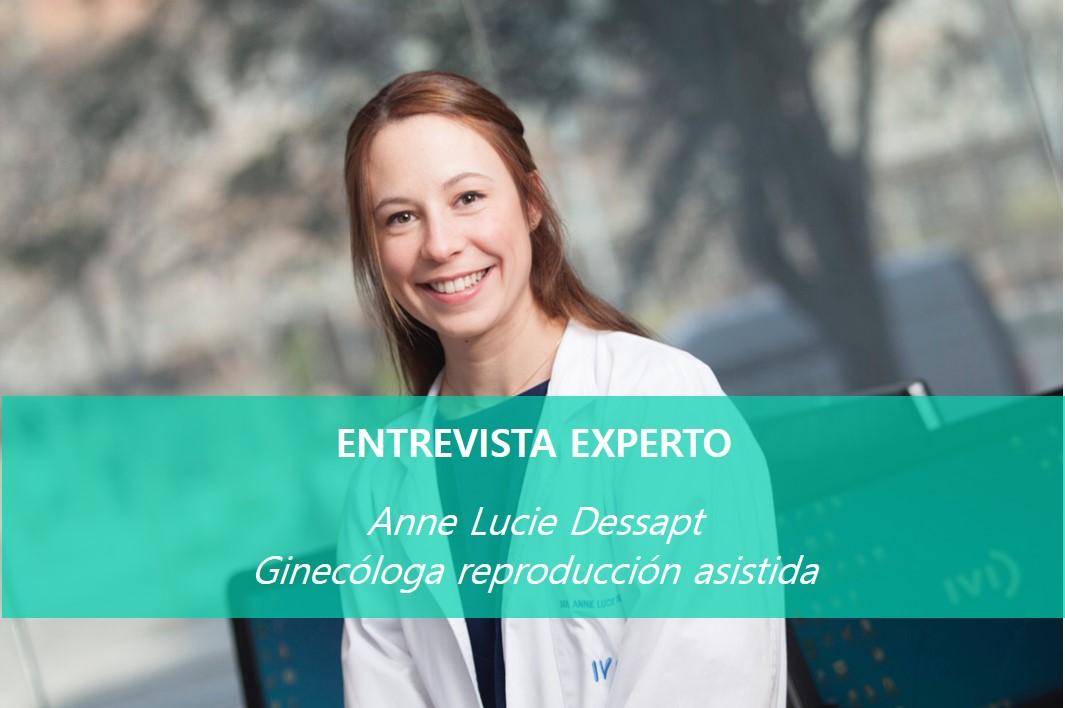 Dra Dessapt, ginecóloga especializada en reproducción asistida